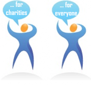 social media services for charities and everyone