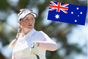 Holly Clyburn, golf, Women's Australian Open